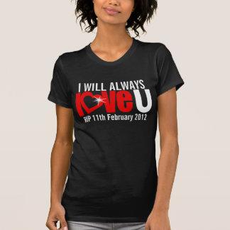 Amaré siempre U RASGO para siempre la camiseta del Remera