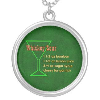 Amargo de whisky colgantes