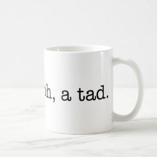 ¿amargo? oh, un poco. taza