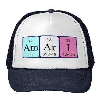 Amari periodic table name hat