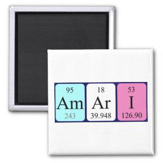 Amari periodic table name magnet