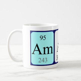 Amari periodic table name mug