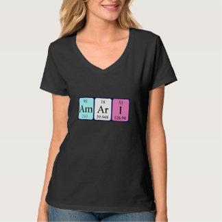 Amari periodic table name shirt