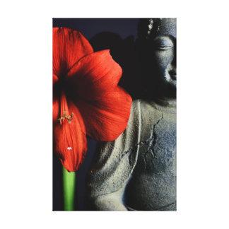 Amarilis Buda Impresión En Lona Estirada