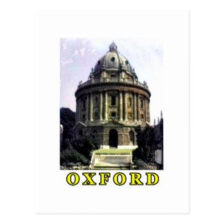 Amarillo 1986 de la foto 198 de Oxford El MUSEO Tarjeta Postal