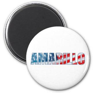 Amarillo 2 Inch Round Magnet