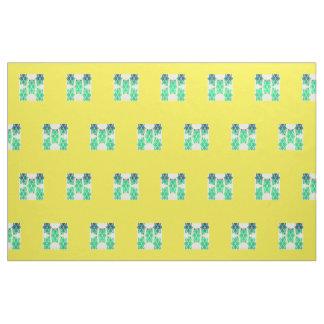 Amarillo abstracto del Mitad-Ladrillo XII feliz Telas