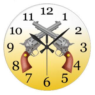AMARILLO Al FONDO BLANCO 6000.PNG Reloj Redondo Grande