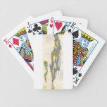 Amarillo al gris baraja cartas de poker
