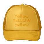 AMARILLO, amarillo, amarillo Gorro De Camionero