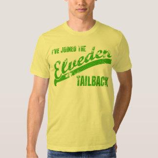 Amarillo amarillo del tailback de Elveden Remera