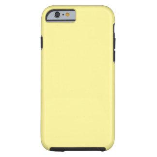 Amarillo amarillo funda de iPhone 6 tough
