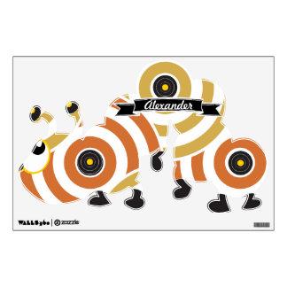 Amarillo anaranjado personalizado Caterpillar del