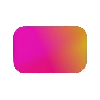 Amarillo anaranjado rosado Ombre