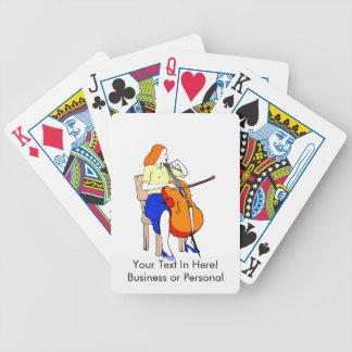 Amarillo bajo femenino shirt.png de la orquesta barajas de cartas