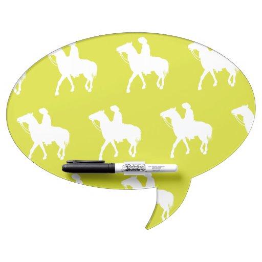 Amarillo blanco del vaquero pizarras