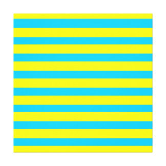 Amarillo brillante del verano de la diversión y ra impresiones en lienzo estiradas