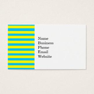Amarillo brillante del verano de la diversión y tarjeta de negocios