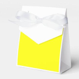 Amarillo Caja Para Regalos De Fiestas