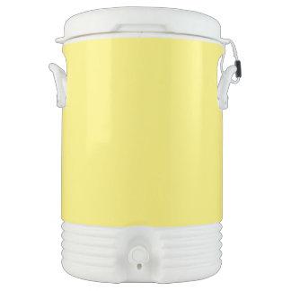 Amarillo claro vaso enfriador igloo