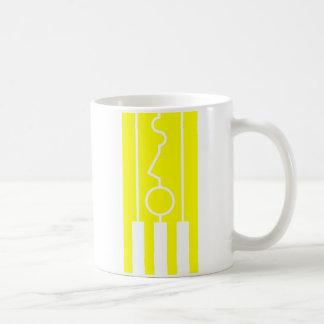 Amarillo clásico de la taza lenta