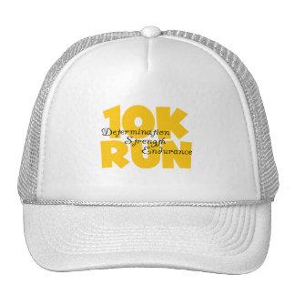 amarillo corrido 10K Gorra