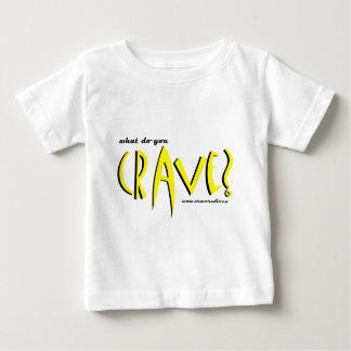 amarillo cravedesign1 playera de bebé