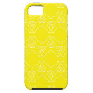 Amarillo de Avante Garde iPhone 5 Carcasa