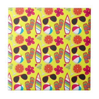 Amarillo de BeachBall de las gafas de sol de los f Teja Ceramica