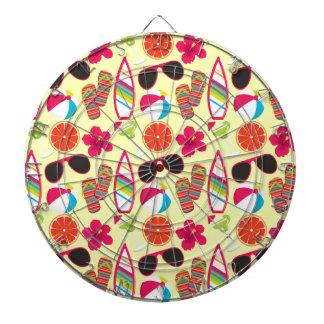 Amarillo de BeachBall de las gafas de sol de los f Tabla Dardos