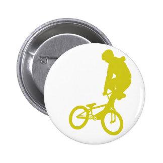 Amarillo de BMX Pin