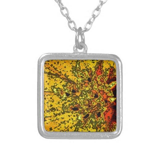 """Amarillo de """"ConchSalad"""" y arte hermosos de los na Joyería"""