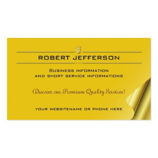 Amarillo de costura de la costurera de la tarjeta  tarjetas de visita