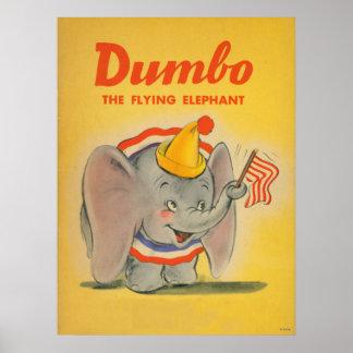 Amarillo de Dumbo Póster