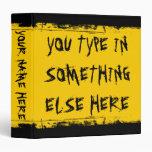 Amarillo de encargo del autobús escolar del Grunge