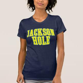 Amarillo de Jackson Hole Playera