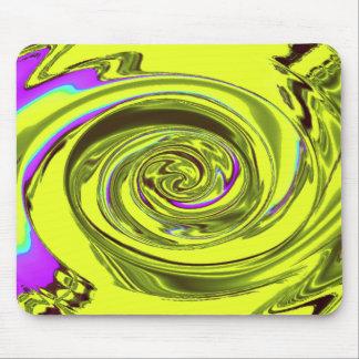 amarillo de Javier del mousepad de la onda de agua