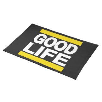 Amarillo de la buena vida manteles