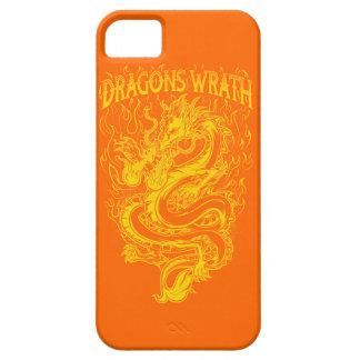Amarillo de la cólera de los dragones iPhone 5 Case-Mate carcasas