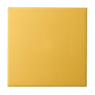 Amarillo de la energía solar - teja de la mezcla y