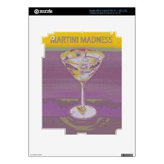 amarillo de la locura de martini iPad 3 pegatina skin