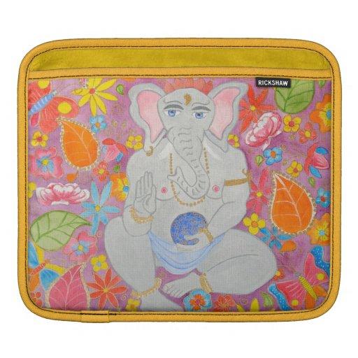 Amarillo de la manga de aire de Ganesh MacBook Funda Para iPads