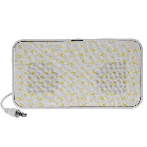 amarillo de las estrellas 4 notebook altavoces