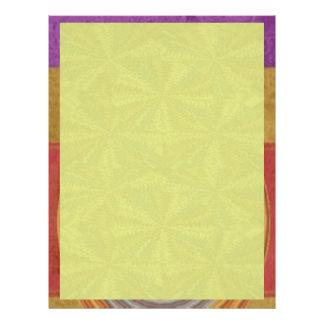 Amarillo de las sombras - añada su imagen de las plantillas de membrete
