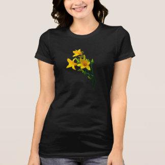 Amarillo de los Daylilies Polera
