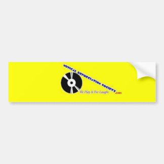 Amarillo de los MDS Pegatina Para Auto