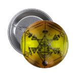 amarillo de los símbolos del strang pins