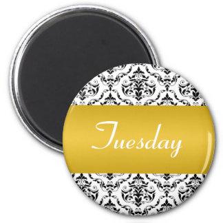 Amarillo de martes - imán del damasco