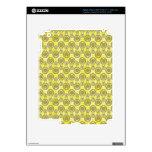 Amarillo de Mehndi Pegatinas Skins Para iPad 3