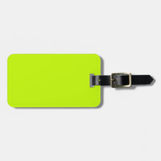 Amarillo de neón de la verde lima fluorescente etiquetas bolsa